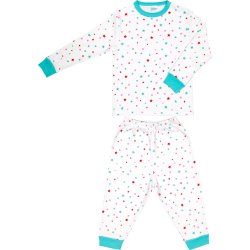 Long-sleeve thick pajamas with stars allover pattern