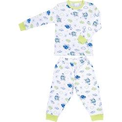 Pijamale primăvară-toamnă imprimeu model țestoase