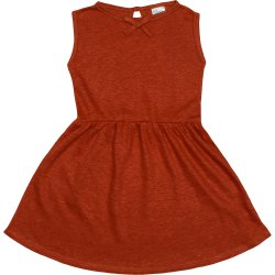 Brick red summer dress