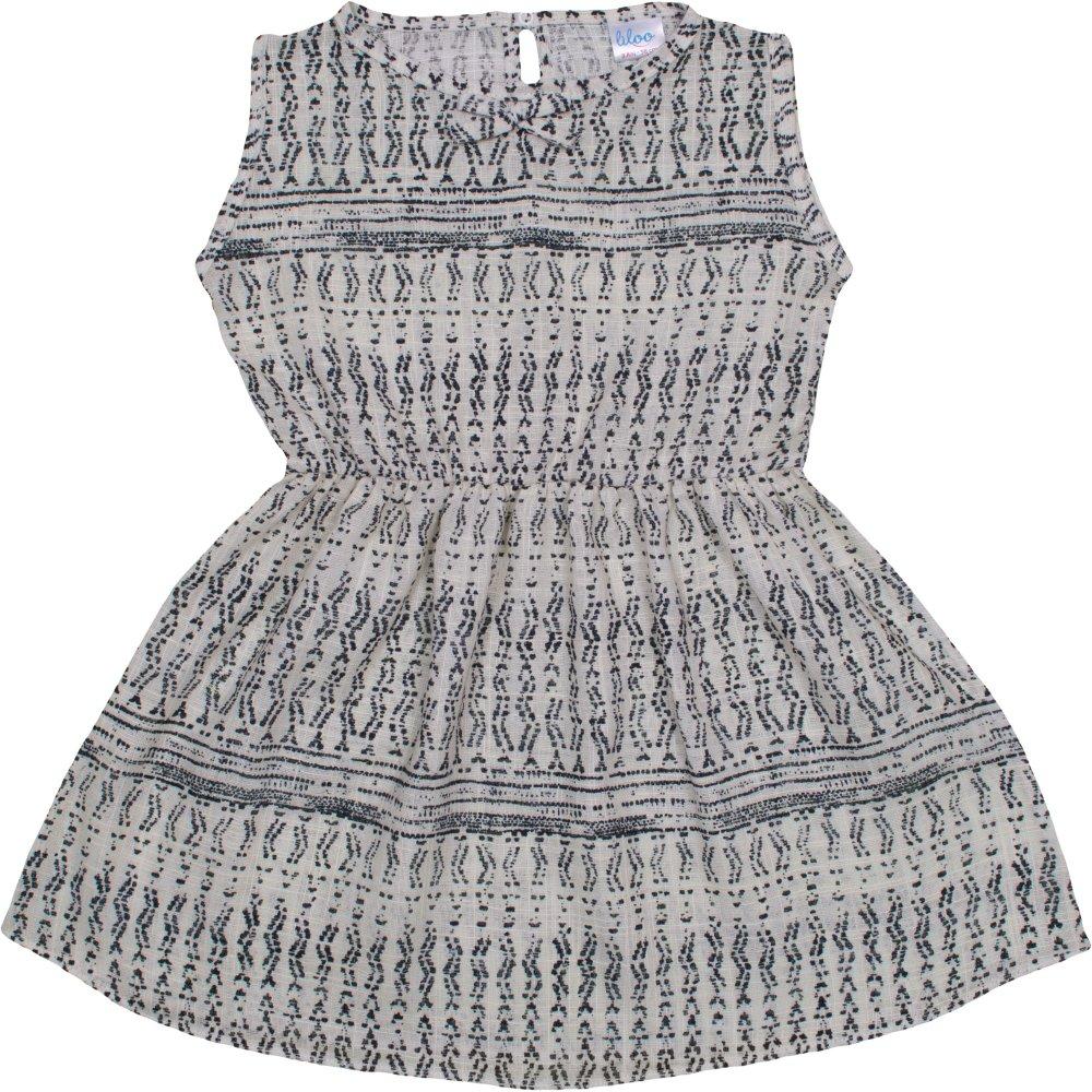 Rochiță de vară crem model popular stilizat gri   liloo