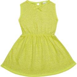 Rochiță de vară galbenă neon