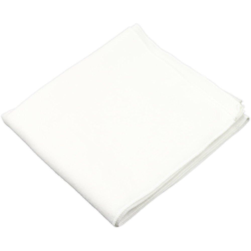 Scutec finet (bumbac) alb - lavabil si refolosibil | liloo