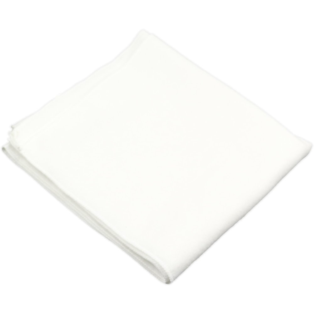 Scutec mare finet (bumbac) alb - lavabil si refolosibil | liloo