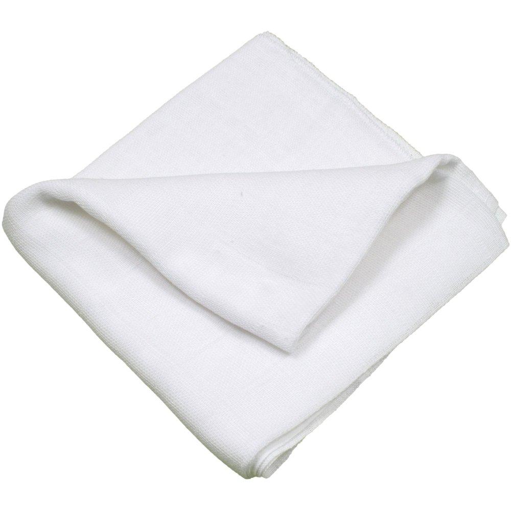 Scutec tetra (bumbac) alb - lavabil și refolosibil | liloo