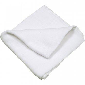 Scutec tetra (bumbac) alb - lavabil și refolosibil