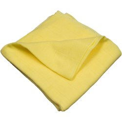 Scutec tetra (bumbac) galben - lavabil și refolosibil
