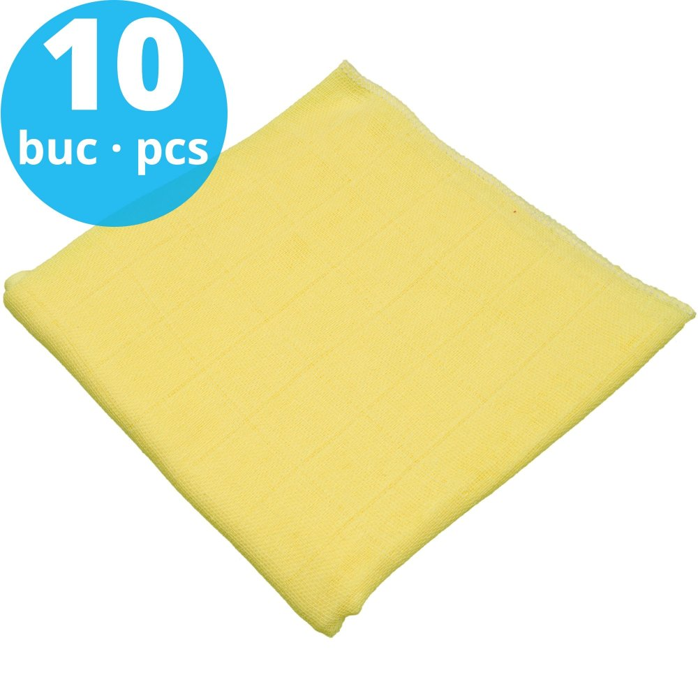 Pachet economic 10 scutece tetra (bumbac) galbene - lavabile și refolosibile | liloo