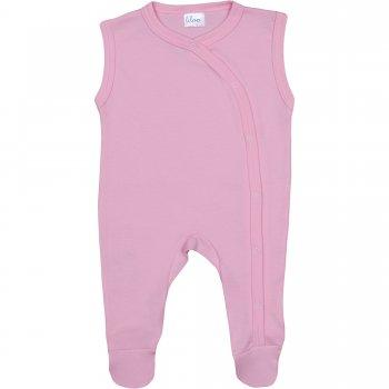 Salopetă fără mâneci - pantaloni cu botoșei roz uni | liloo