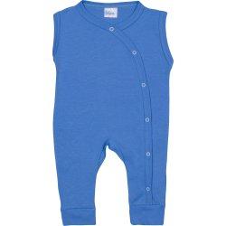 Dark azure sleeveless sleep & play