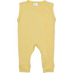 Yellow sleeveless sleep & play