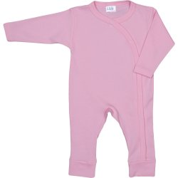 Pink long-sleeve sleep & play