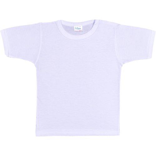 Tricou mânecă scurtă alb
