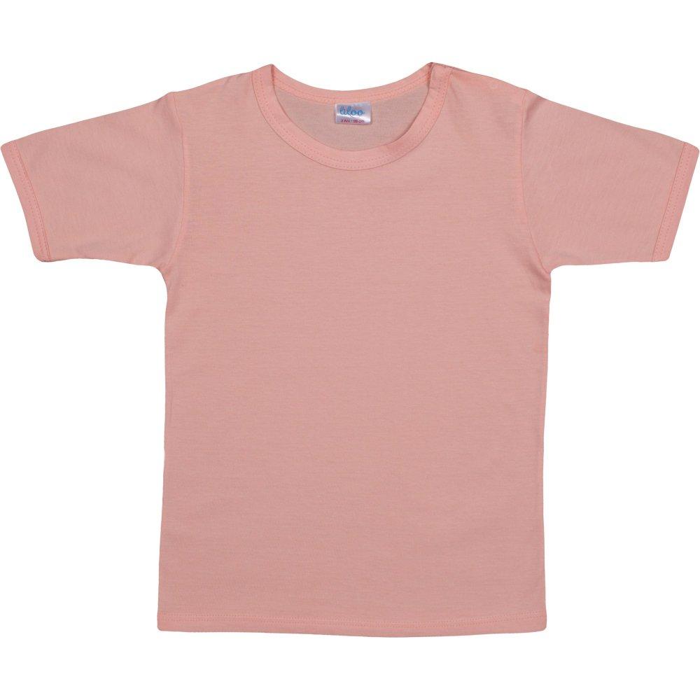 Tricou mânecă scurtă somon | liloo