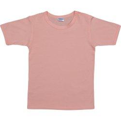 Tricou mânecă scurtă somon