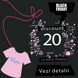 De Black Friday, Liloo te asteapta cu cele mai tari oferte la haine pentru copii