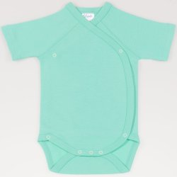 Cockatoo side-snaps short-sleeve bodysuit