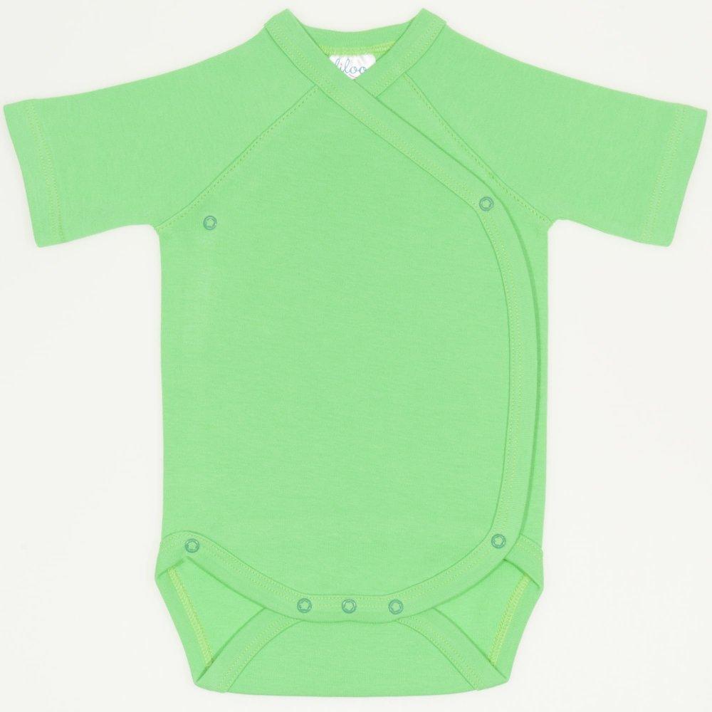 Body capse laterale maneca scurta irish green uni | liloo