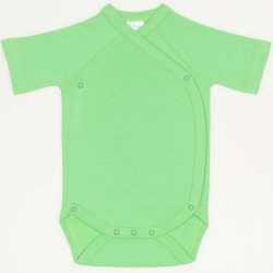 Irish green side-snaps short-sleeve bodysuit