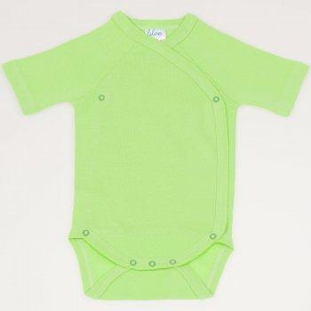 Body capse laterale maneca scurta summer green uni