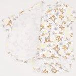 Body capse laterale maneca lunga cu manusi imprimeu model jungle | liloo