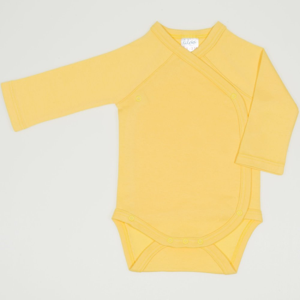 Body capse laterale maneca lunga minion yellow uni  | liloo