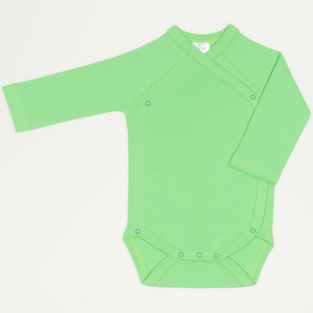 Body capse laterale maneca lunga irish green uni | liloo