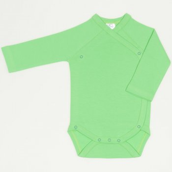 Body capse laterale maneca lunga irish green uni