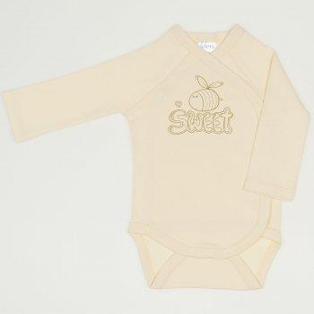 Body capse laterale maneca lunga vanilla custard imprimeu albinuta Sweet | liloo