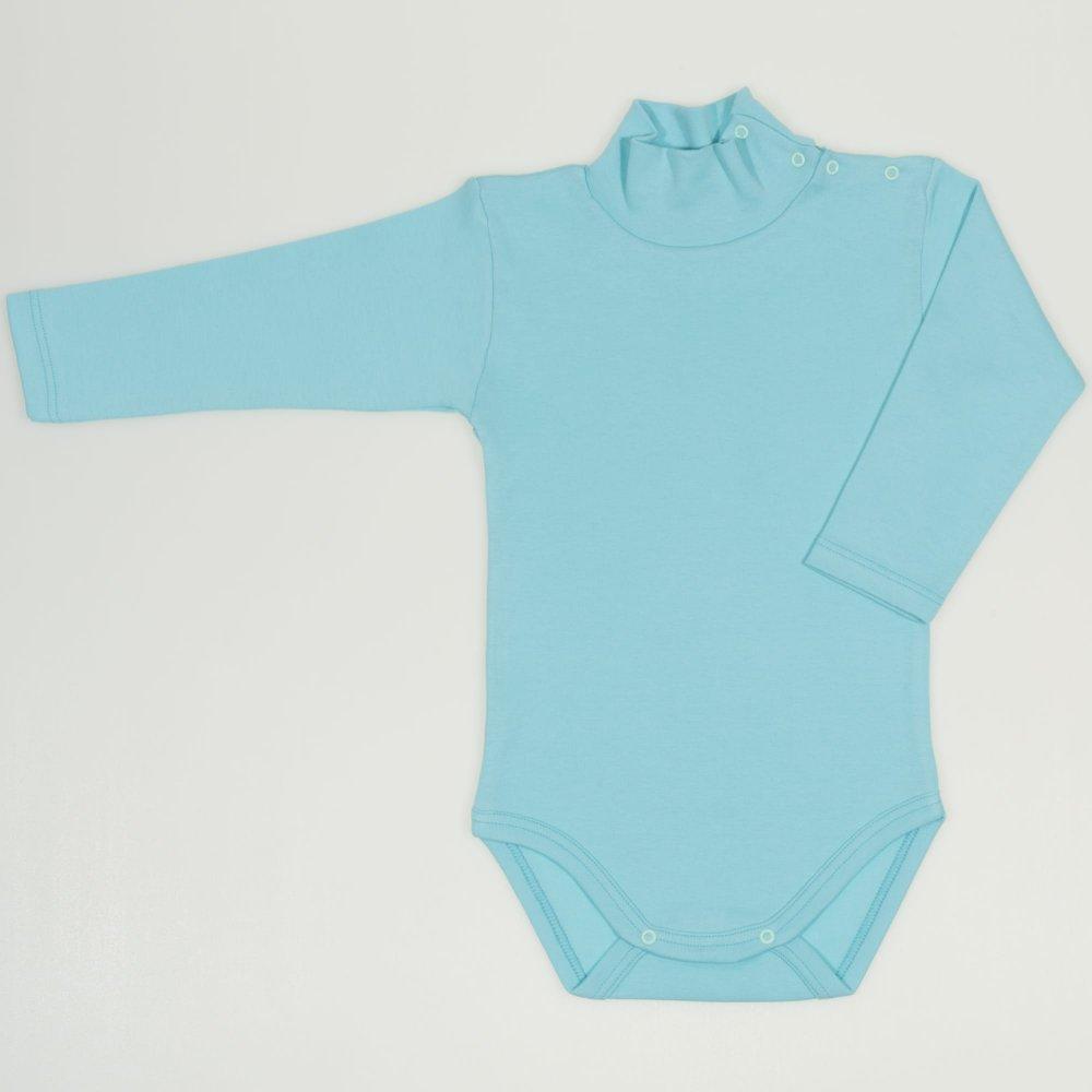 Body maneca lunga tip helanca (maleta) blue radiance uni | liloo
