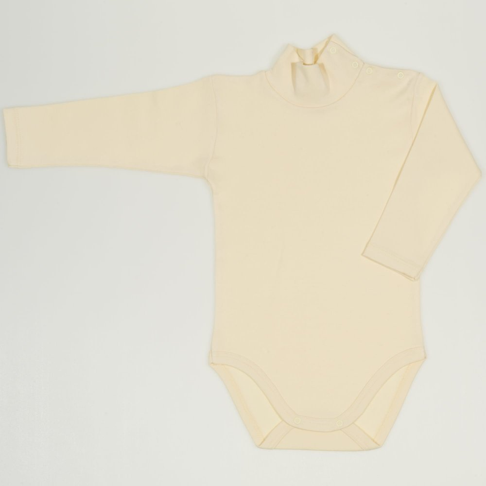 Body maneca lunga tip helanca (maleta) vanilla custard uni | liloo