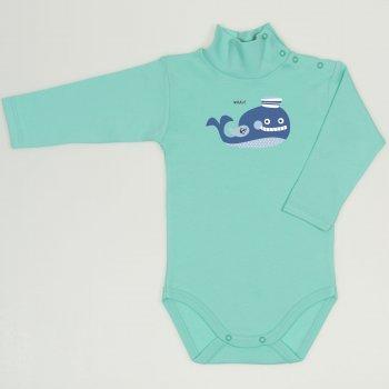 Body maneca lunga tip helanca (maleta) cockatoo imprimeu colorat balena| liloo