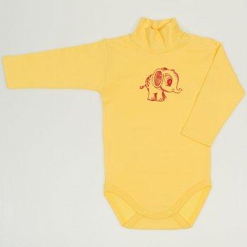 Body maneca lunga tip helanca (maleta) minion yellow imprimeu elefantel  | liloo