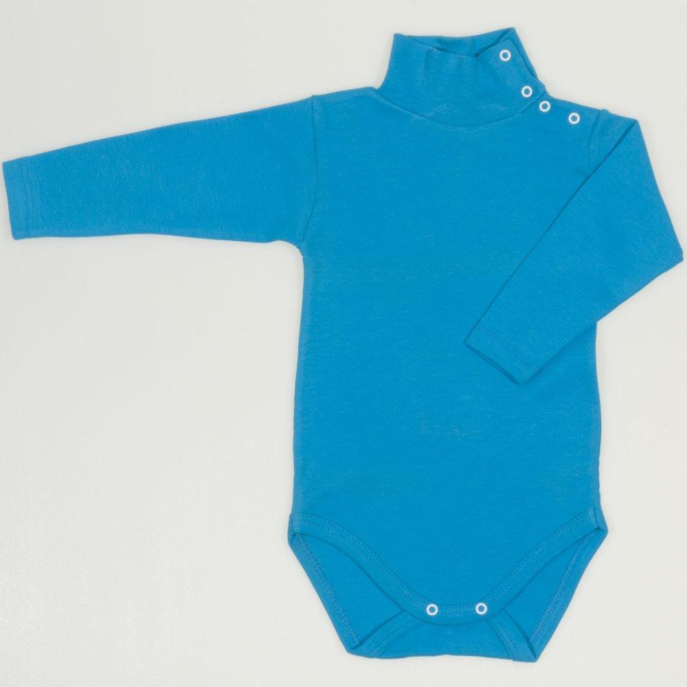 Body maneca lunga tip helanca (maleta) turcoaz uni | liloo