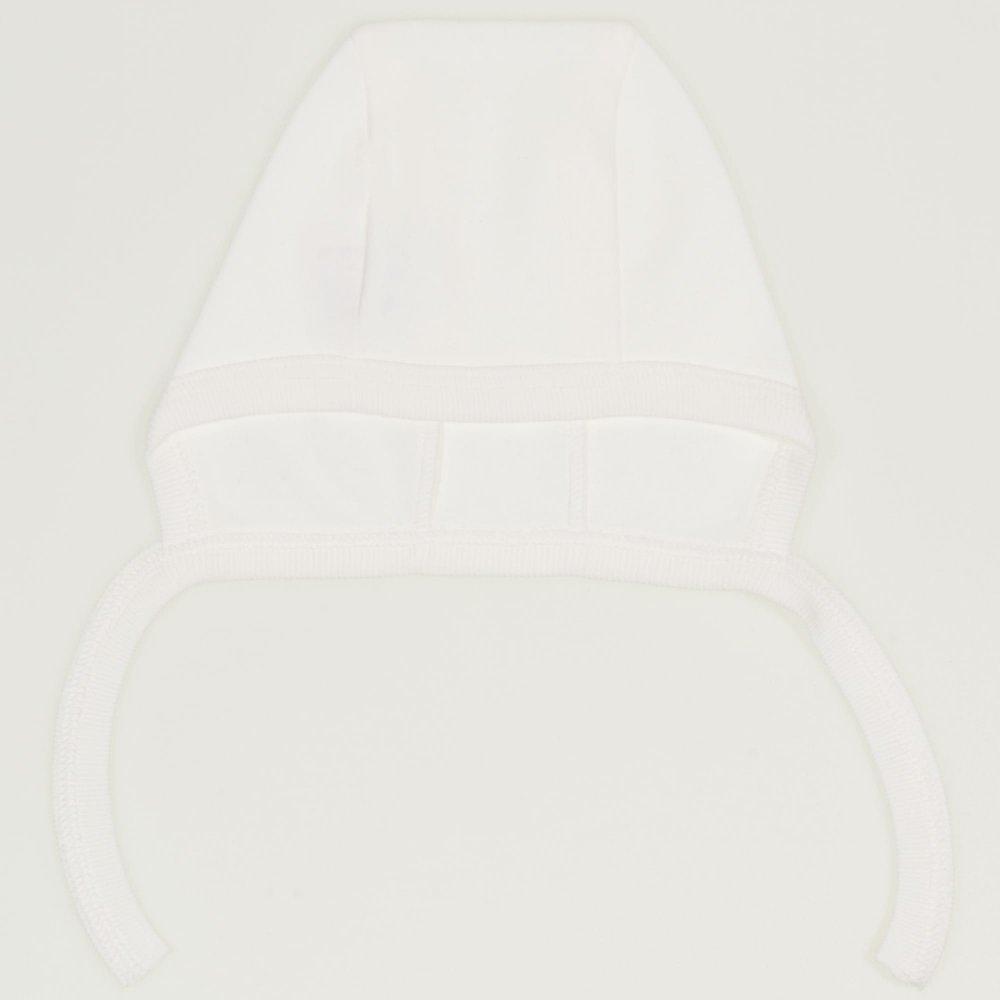 Caciulita tip boneta - blanc de blanc | liloo