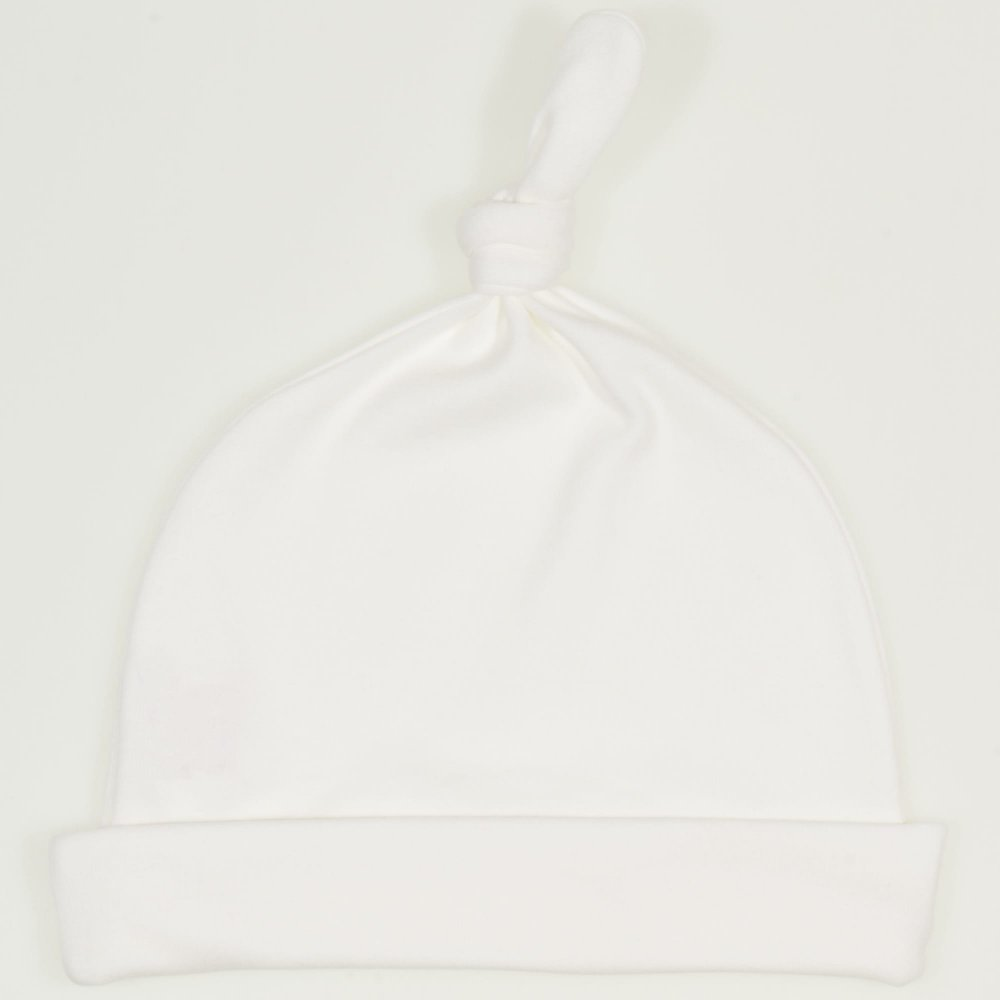 Caciulita cu mot - blanc de blanc | liloo