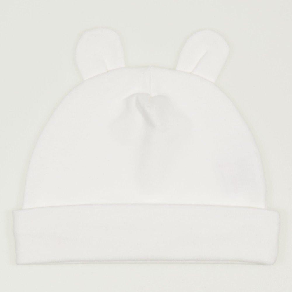 Caciulita cu urechi - blanc de blanc | liloo