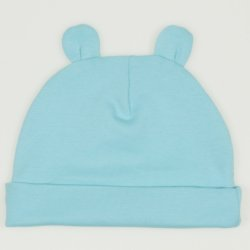 Blue radiance baby hat with toy ears