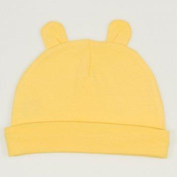 Caciulita cu urechi - minion yellow