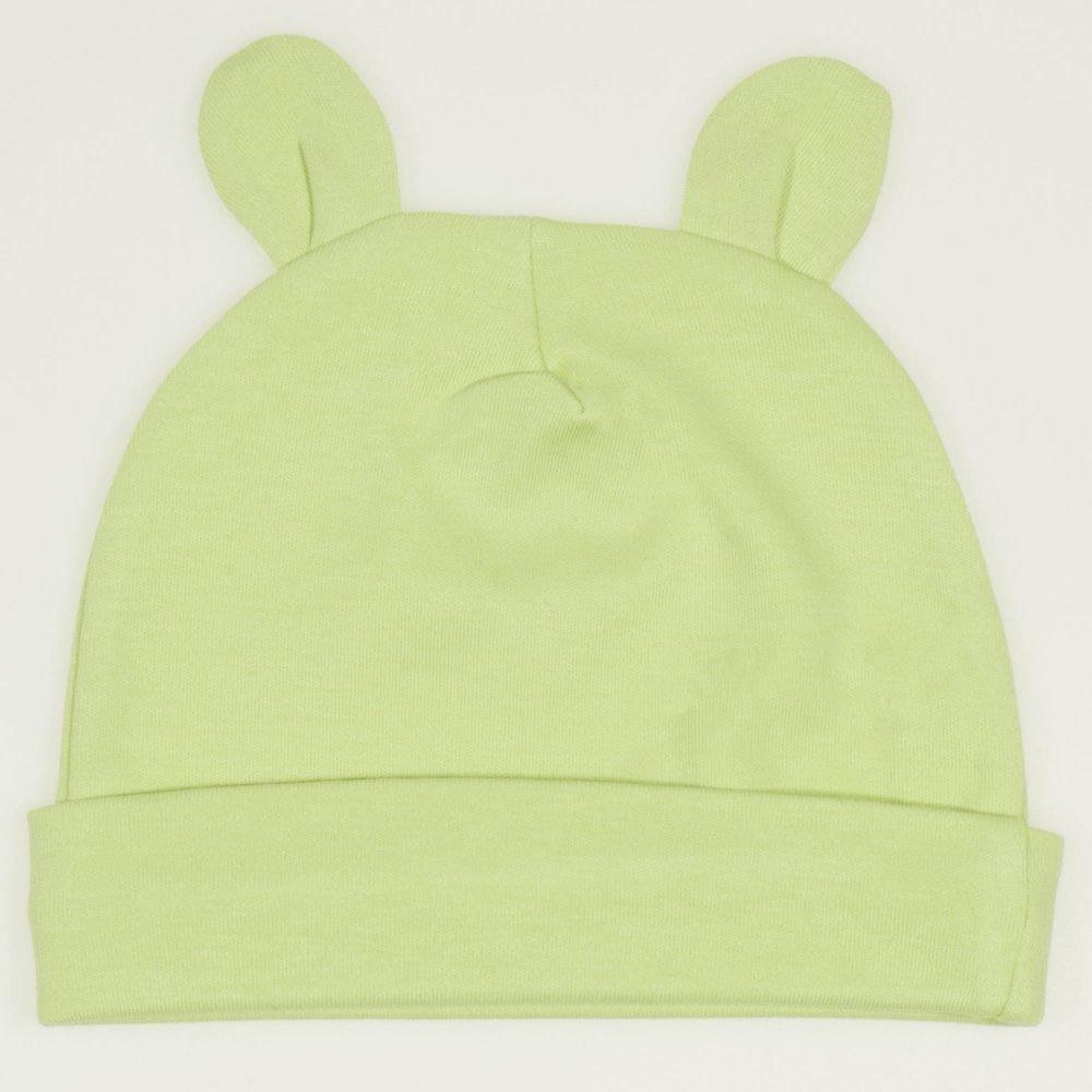 Caciulita cu urechi - verde lime  | liloo