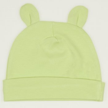Caciulita cu urechi - verde lime