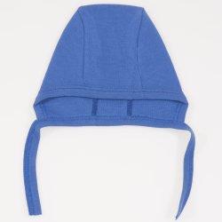 Dark blue baby bonnet