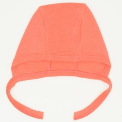 Salmone living coral baby bonnet