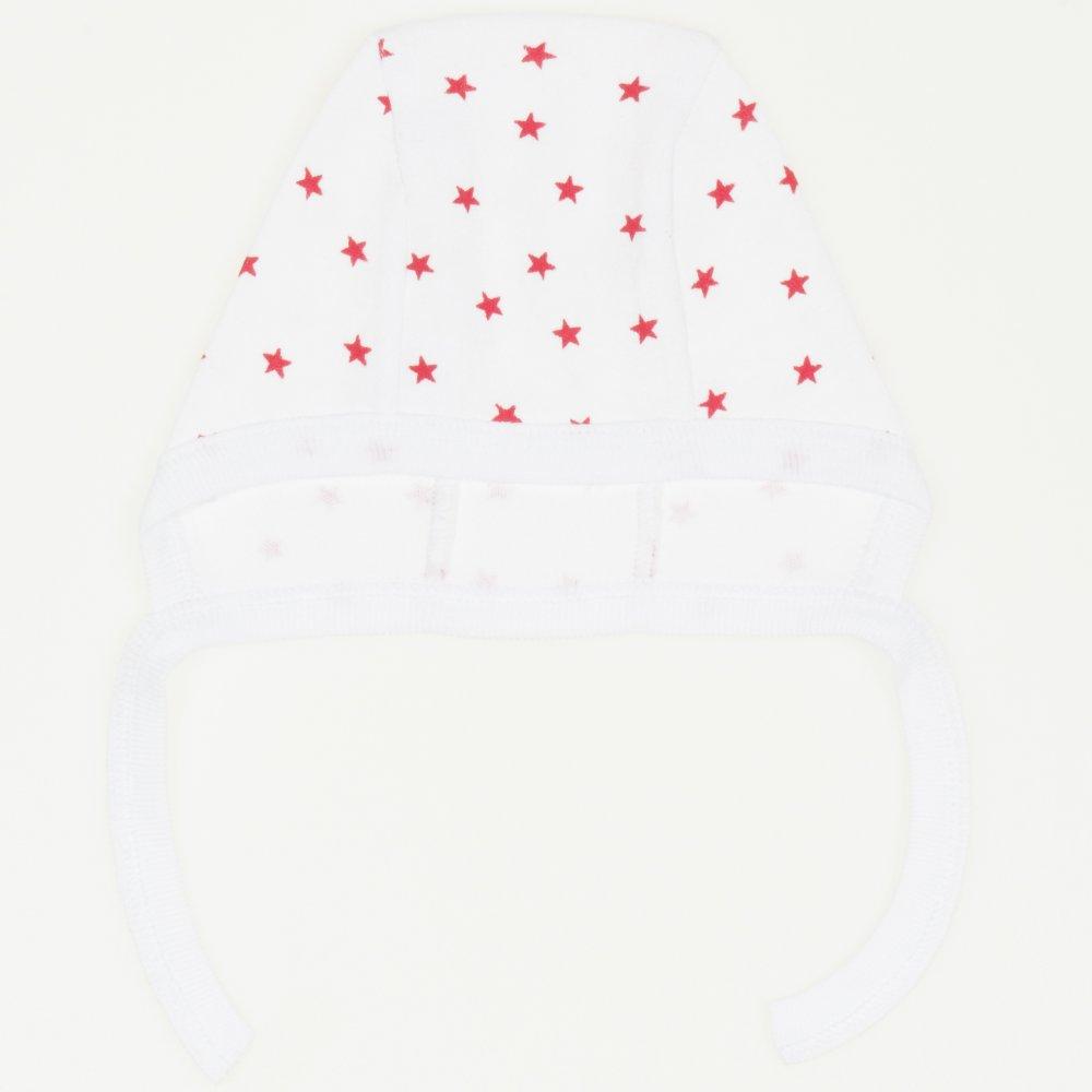Caciulita tip boneta - model stelute rosii | liloo