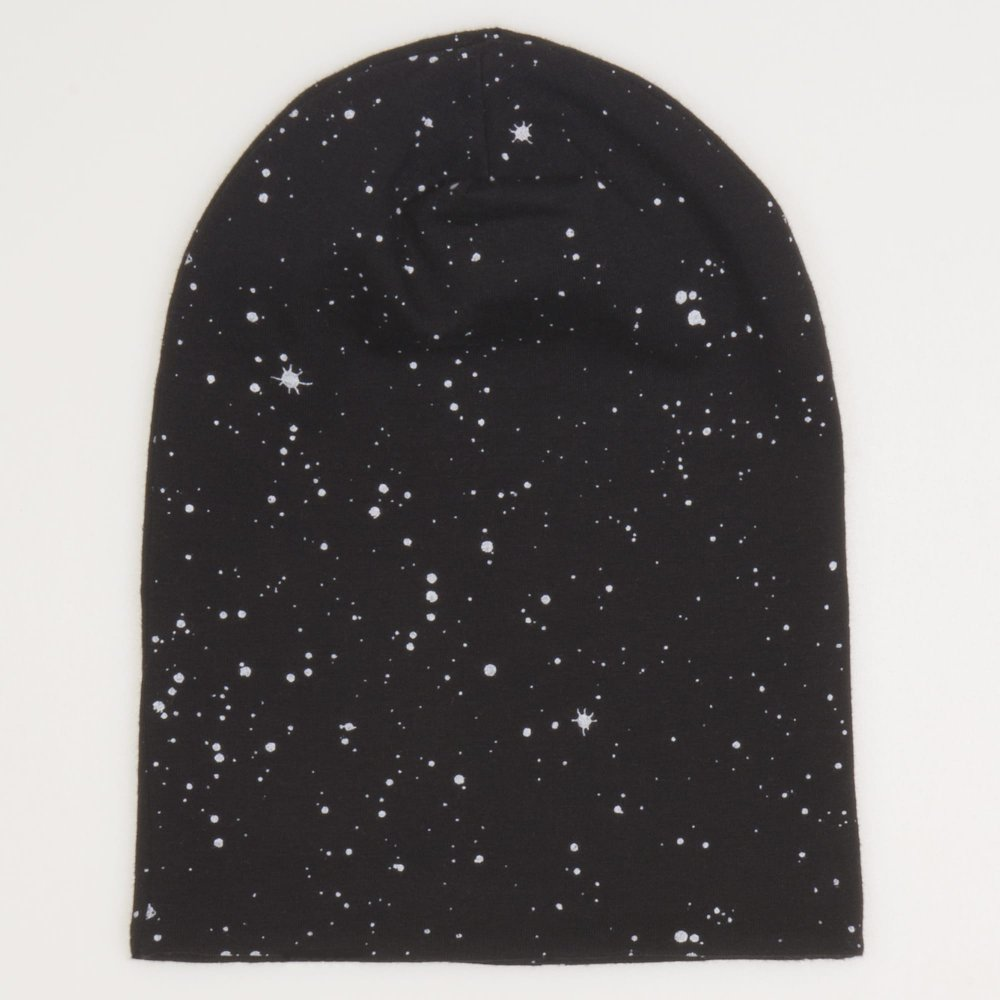 Fes negru - model stropi albi | liloo.ro