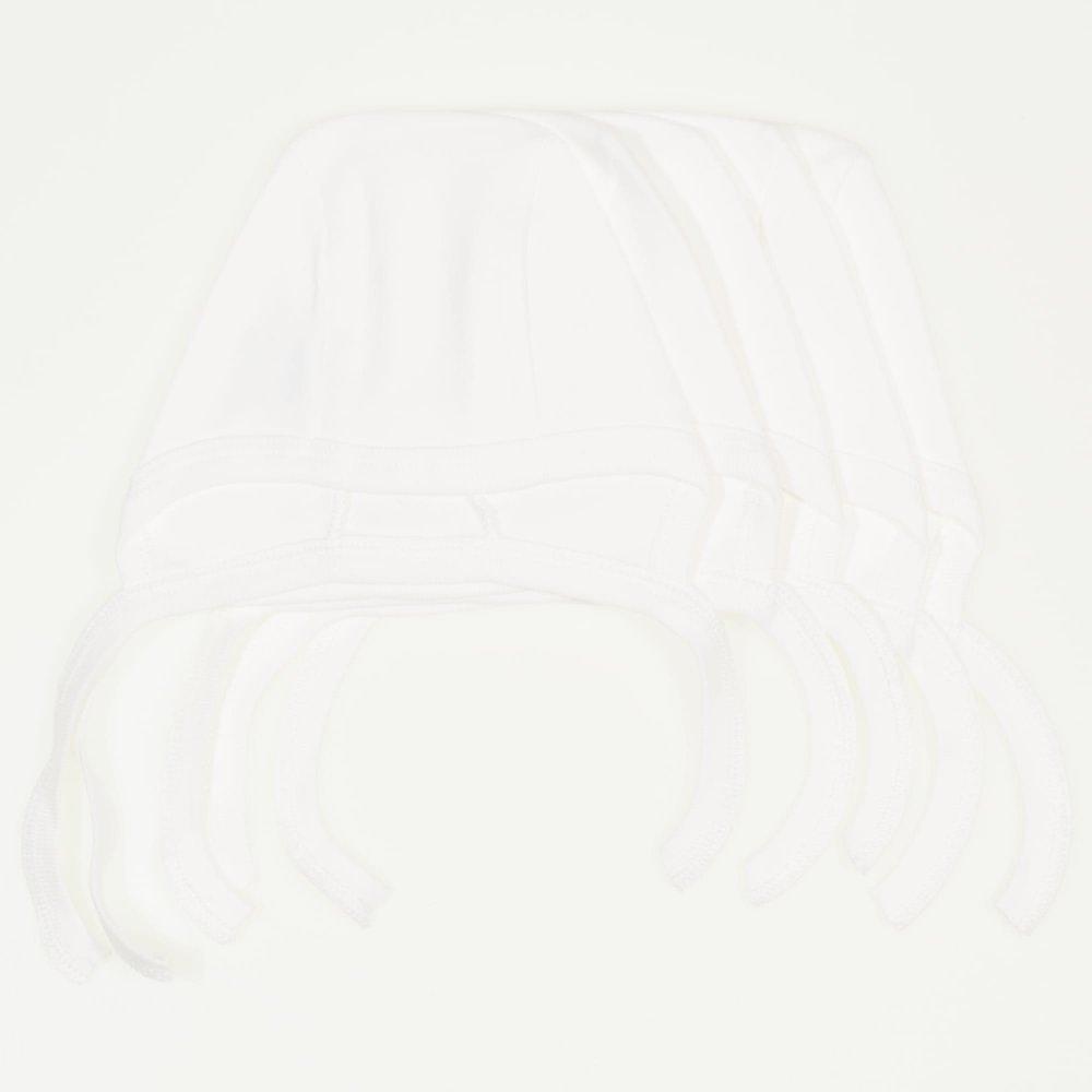 Caciulite tip boneta blanc de blanc - set economic 5 bucati | liloo