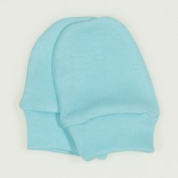Blue radiance newborn gloves