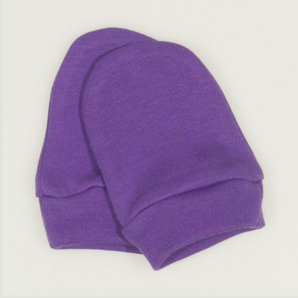 Mănuşi mov deep lavender nou-născut | liloo