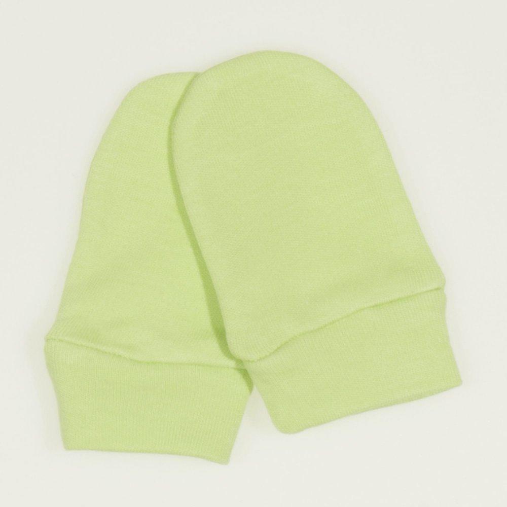 Mănuşi verde lime nou-născut| liloo