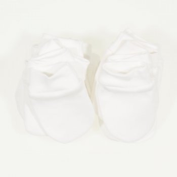 Manusi blanc de blanc nou-nascut - set 10 bucati