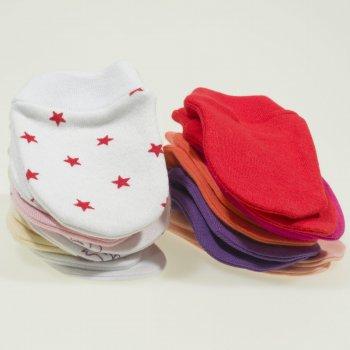 Manusi nou-nascut - set 10 perechi culori fetite